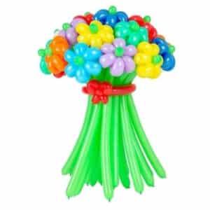 Уветы ромашки из воздушных шаров, Твой праздник, Калининград