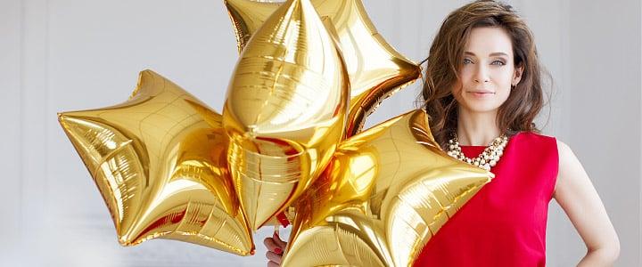 Фольгированные шары! Твой праздник Калининград