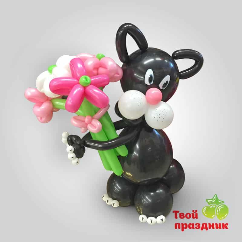 Котик - фигурка из шаров. Твой праздник, Калининград