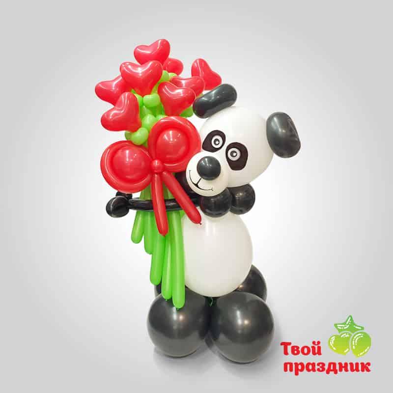 Панда - фигурка из шаров. Твой праздник, Калининград