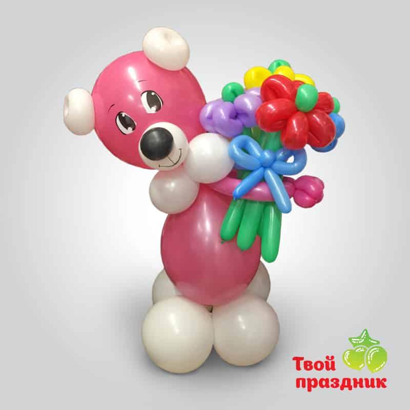 Мишка - фигурка из шаров. Твой праздник, Калининград