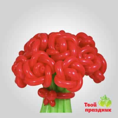 Букет из роз из шариков, Твой праздник, Калининград