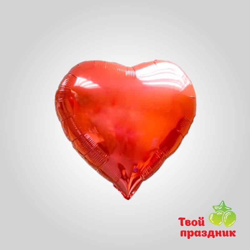 Сердце - фольгированный шар фигура