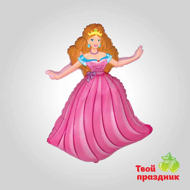 Принцесса Аврора - фольгированный шар фигура