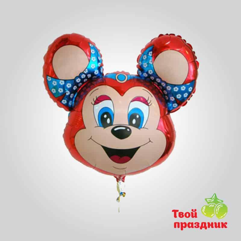Микки Маус- фольгированный шар фигура