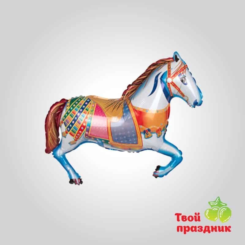 Лошадка - фольгированный шар фигура