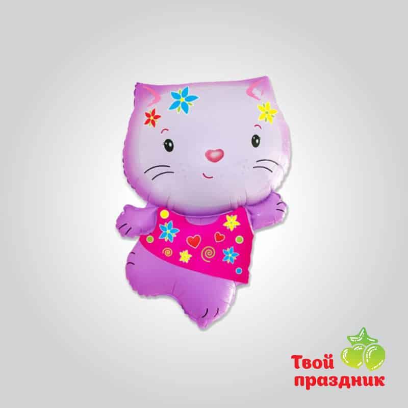 Кошечка - фольгированный шар фигура