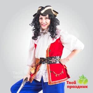 Пиратка Барракуда на детский праздник! Аниматоры в Калининграде! Твой праздник