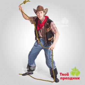 Аниматор ковбой Меткий Джо на детский день рождения. Аниматоры в Калининграде! Твой праздник