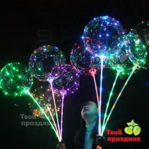 Светящиеся led шары на палке BoBo. Твой праздник в Калининграде