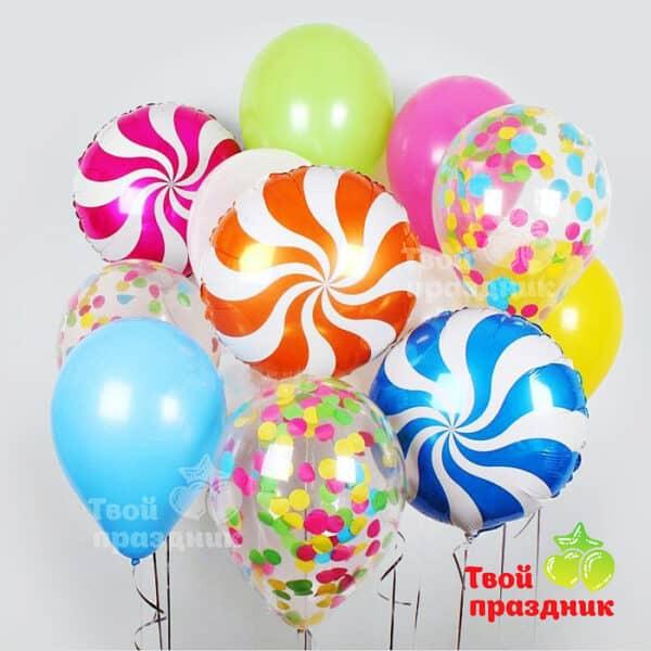 Набор воздушных шаров цвет радости. Твой Праздник, Калининград